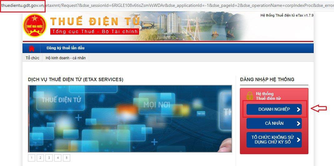 Chữ ký số nộp thuế điện tử