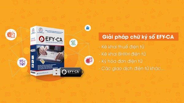EFY CA đã sẵn sàng tham gia vào thị trường chữ ký số