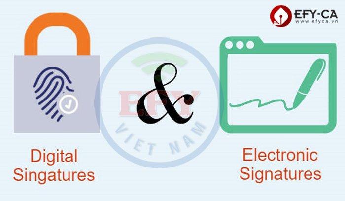 Chữ ký điện tử và chữ ký số